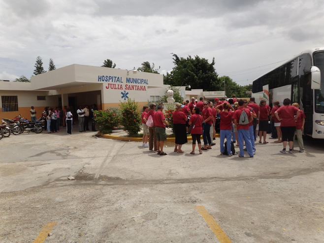 Hospital Municipal Julia Santana in Tamayo