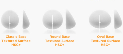 Shaped Sierra Breast Implants: Classic Base, Round Base and Oval Base
